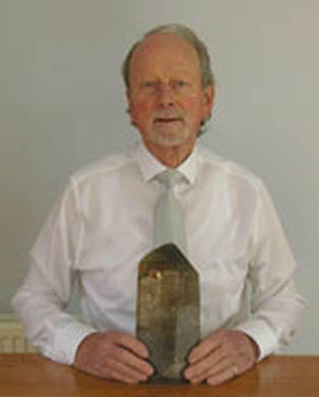 Alan Hodkinson of Scotland, a dealer, gemmologist and instructor in gemmology