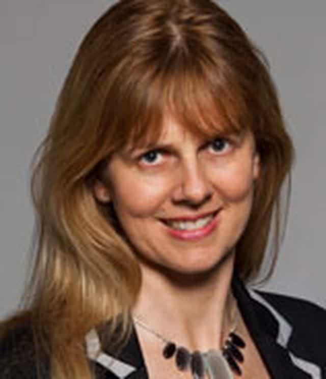 Claire Mitchel, a Senior Gemmology and Diamond instructor for Gem-A, UK.