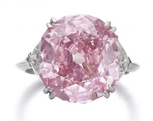 Lot 371 – Superb fancy intense purplish pink diamond ring, Piaget