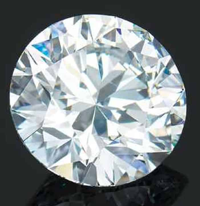LOT 2072 - AN IMPORTANT UNMOUNTED DIAMOND