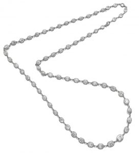 LOT 901 - DIAMOND LONG CHAIN