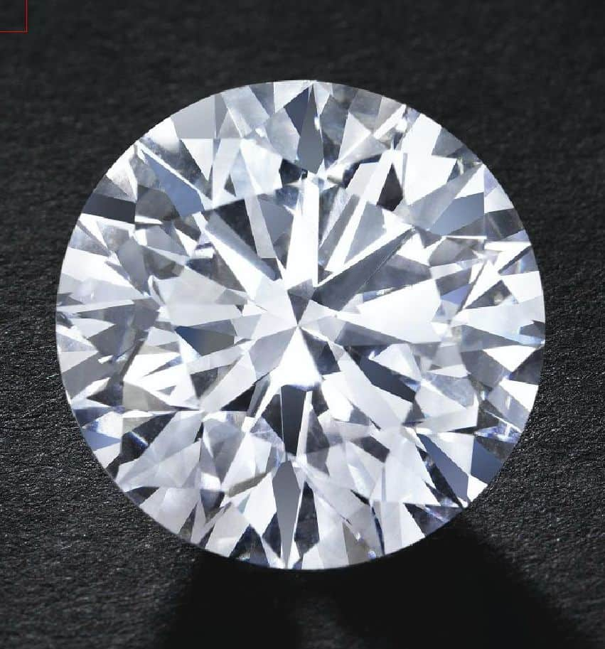 LOT 252 - AN IMPORTANT DIAMOND
