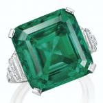 "CHRISTIE'S JUNE 20, 2017, ""MAGNIFICENT JEWELS & THE ROCKEFELLER EMERALD"" NEW YORK SALE SETS WORLD AUCTION RECORD PER CARAT FOR AN EMERALD"
