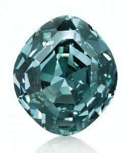 LOT 273 - AN EXTRAORDINARY COLORED DIAMOND RIN