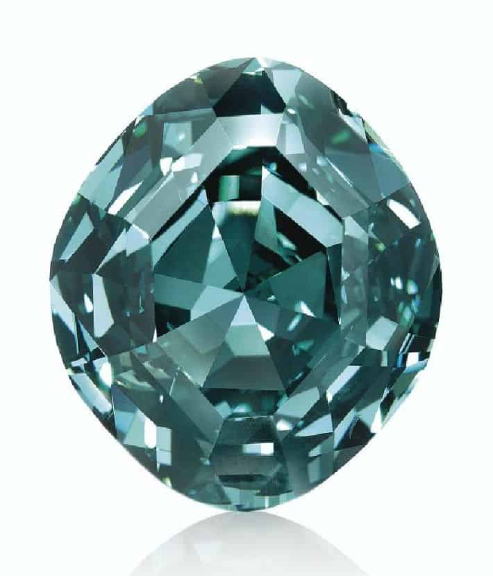 LOT 273 - AN EXTRAORDINARY COLORED DIAMOND RIN