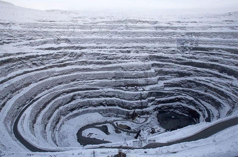 ALROSA'S UDACHNY DIAMOND MINE
