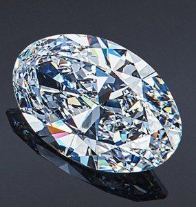 1.39-Carat, Oval-Shaped Yusupovs Diamond