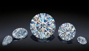 Five Diamonds of the Dynasty Collection Created from the 179-Carat Romanovs Rough Diamond