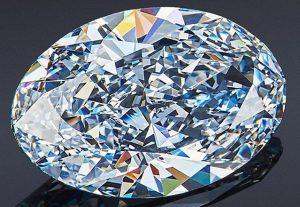 5.05-Carat, Oval-Cut Orlovs Diamond