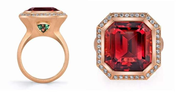 BUSINESS'DAY WEAR HONORABLE MENTION, OMI PRIVE, 18K ROSE GOLD LE ELEGANCE RING