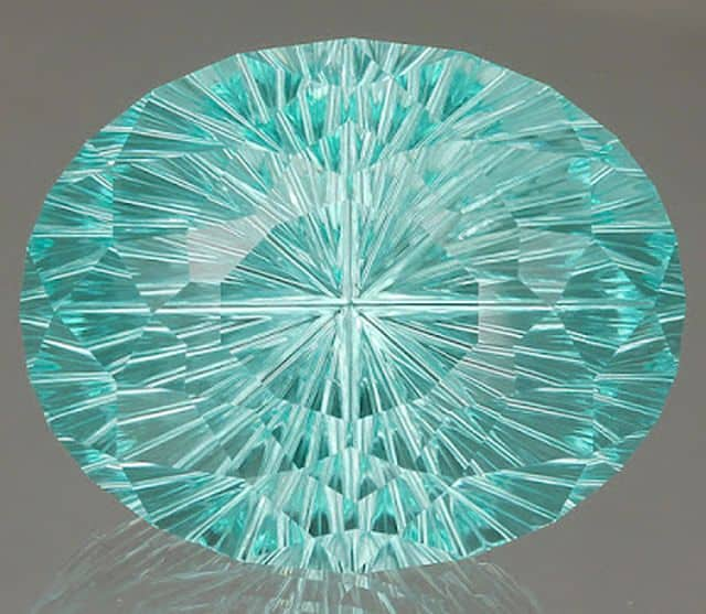 INNOVATIVE FACETING 3RD PLACE, JOHN DYER, 53.86 CT. SPECIALTY-CUT TOURMALINE