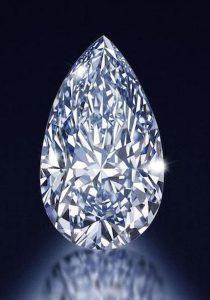 LOT 188 - 4.03-CARAT, FANCY INTENSE BLUE, SI-1 CLARITY, PEAR-SHAPED DIAMOND