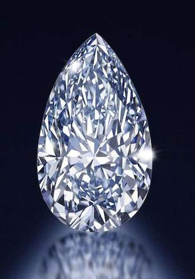 LOT 188 - 4.03-CARAT, FANCY INTENSE BLUE, SI-1 CLARITY, PEAR-SHAPED DIAMOND