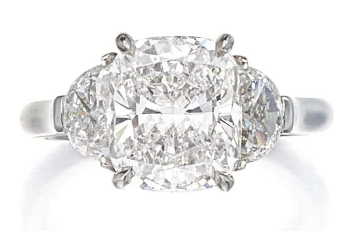 LOT 9203 - DIAMOND RING - A PRODUCT OF IVANKA TRUMP FINE JEWELRY