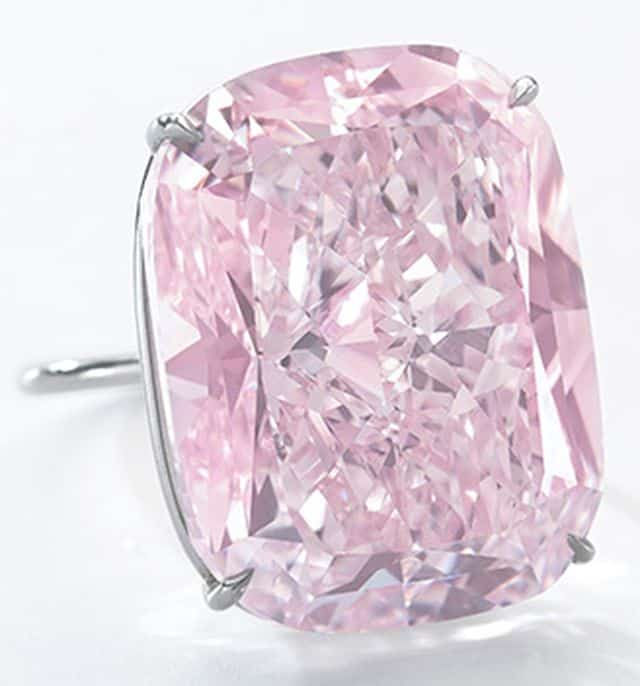 37.30-CARAT, VS1-CLARITY, FANCY INTENSE PINK, CUSHION BRILLIANT CUT RAJ PINK DIAMOND