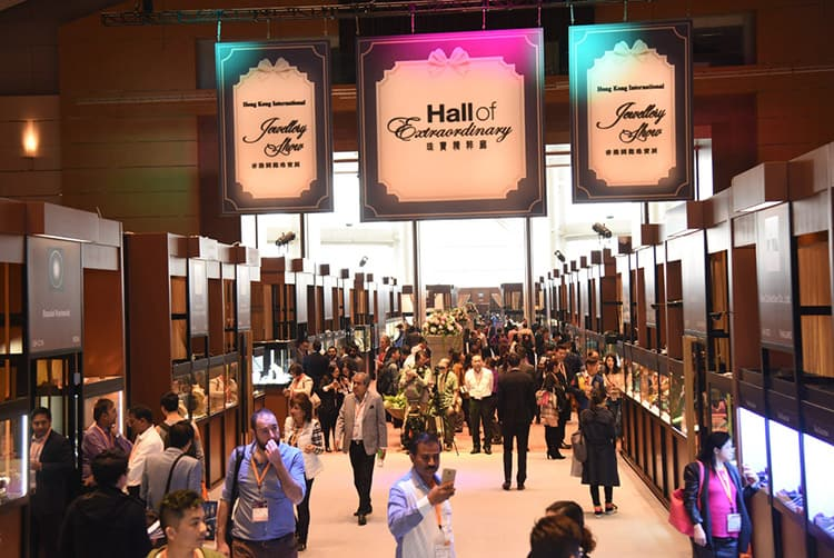 HALL OF EXTRAORDINARY AT THE 2017 HONG KONG INTERNATIONAL JEWELLERY SHOW