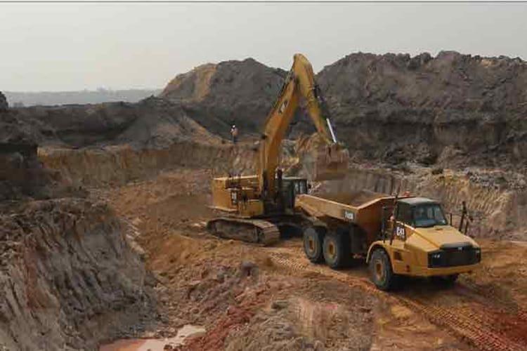 LUCAPA'S LULO ALLUVIAL DIAMOND MINE IN ANGOLA