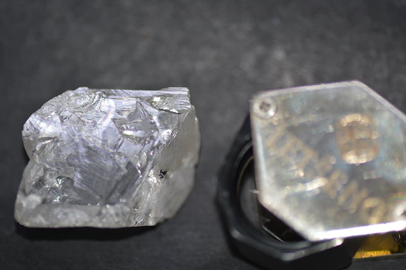 152-CARAT, TOP-QUALITY, TYPE IIa ROUGH DIAMOND RECOVERED MARCH 2018