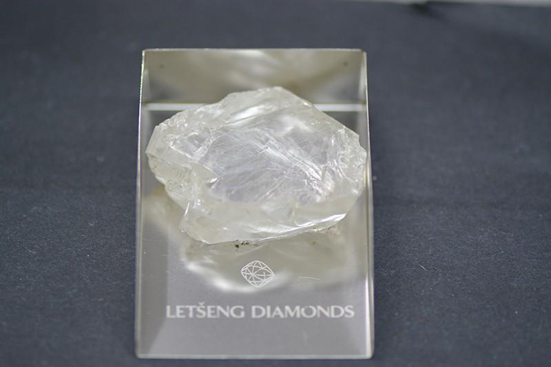 169-CARAT, D-COLOR, TYPE 11a ROUGH DIAMOND