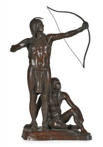 Lot 5: Cyrus Edwin Dallin Archery Lesson $20,000 - 30,000