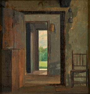 Lot 10: Winslow Homer The Dutch Door $30,000 - 50,000