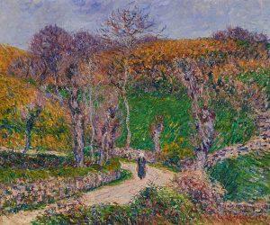 Lot 14: Gustav Loiseau Paysage de Bretagne, Pont Aven $60,000 - 80,000