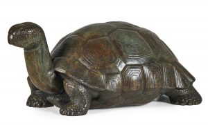 Lot 40: Paul Howard Manship Tortoise (for the Rainey Gates, Bronx Zoo)  $20,000 - 30,000