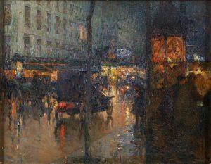 Lot 66: Edouard Leon Cortes Boulevard des Capucines, Paris $30,000 - 50,000