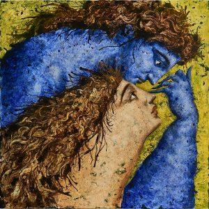 Lot 87: Jean Pierre Roc-Roussey Amour en Bleu $25,000 - 35,000