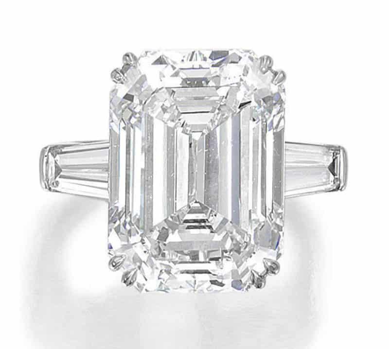 LOT 115 – DIAMOND RING, TIFFANY & Co
