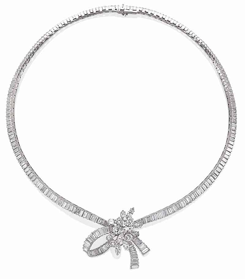 LOT 75 –DIAMOND NECKLACE