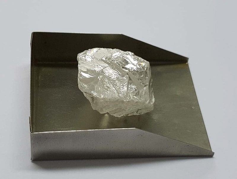 114 carat Type IIa top-colour white diamond held for sale later this year