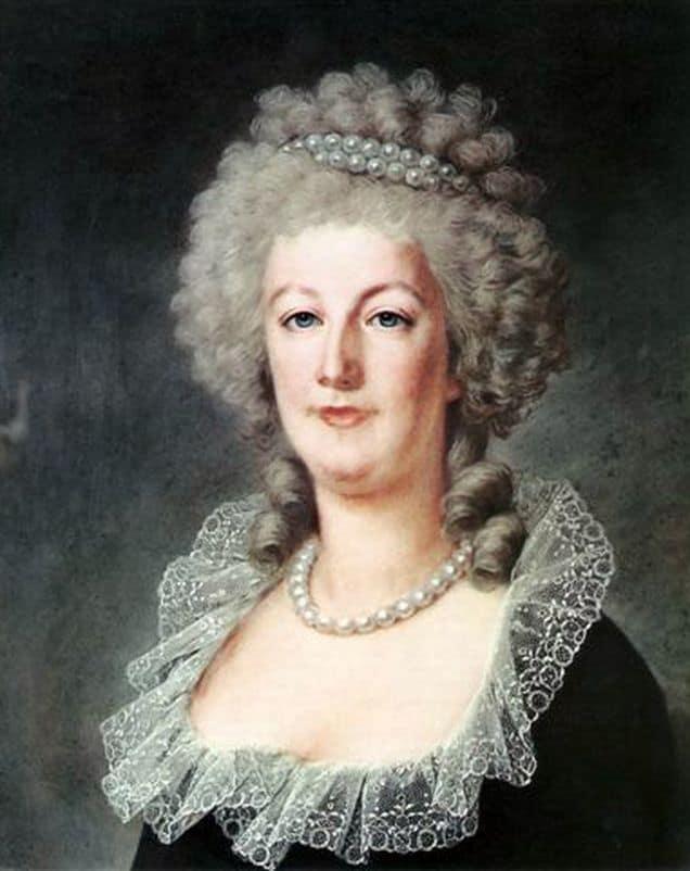 MARIE ANTOINETTE AT THE TUILERIES PALACE IN 1790