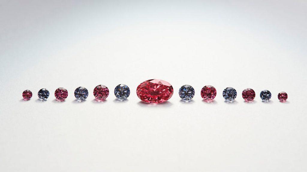 Petit Oiseau diamonds