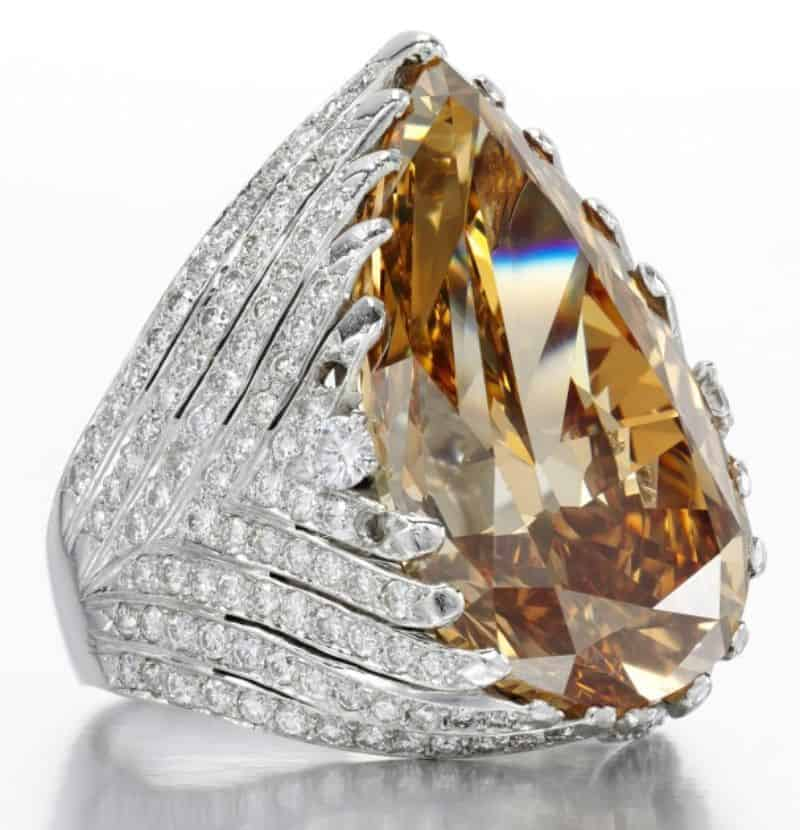 LOT-121-FANCY-DEEP-BROWN-YELLOW-DIAMOND-RING