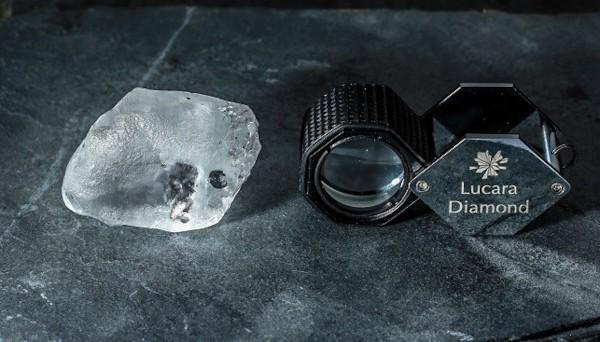 Lucara 341 carat diamond