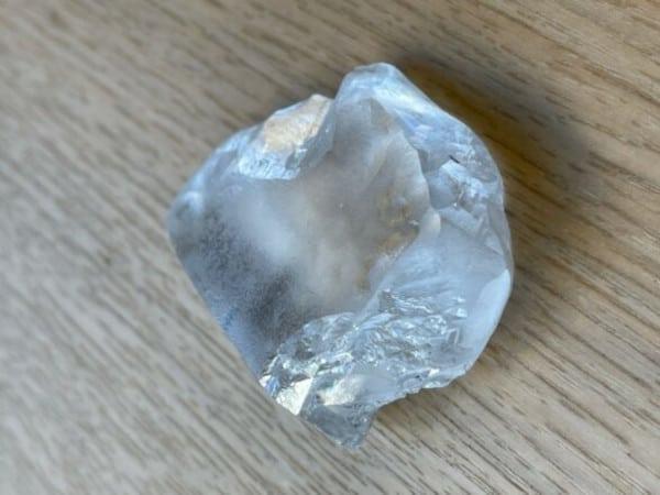 299-ct white rough diamond recovered at cullinan Jan 2021