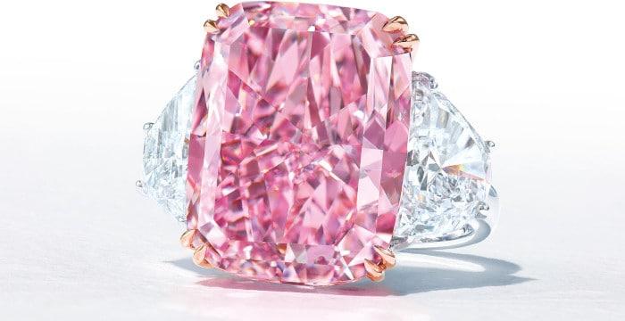 15.81-carat pink sakura diamond
