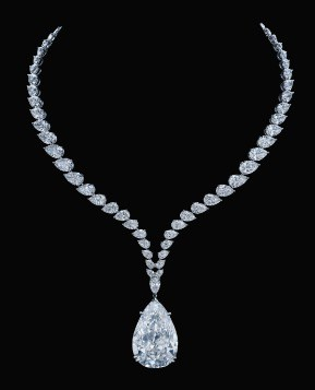 The Chrysler Diamond Pendant Necklace
