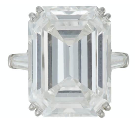 HARRY WINSTON DIAMOND RING