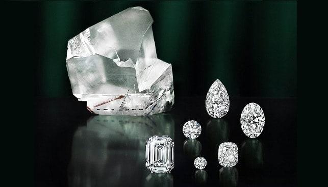 Leseidi La Rona polished diamonds