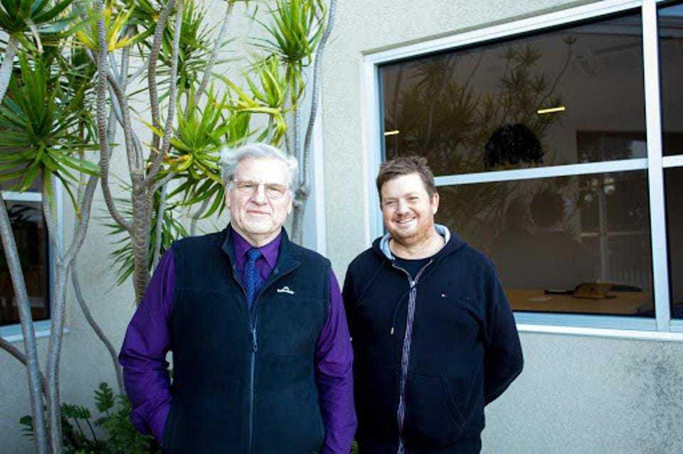 Dr John Watling and Dr Cameron Scadding of Source  Certain International