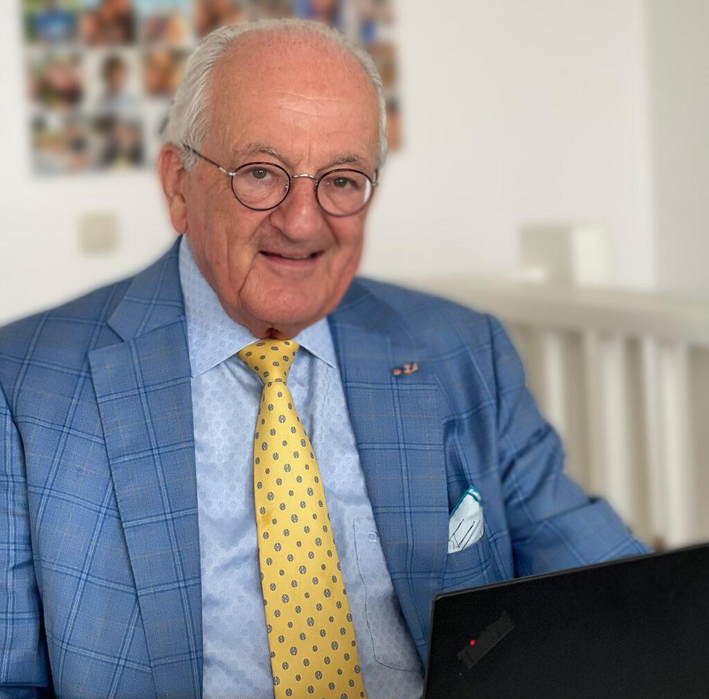 Edward Asscher, President of the World Diamond Council