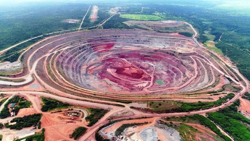 Catoca Diamond Mine- Angola